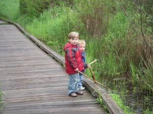 Diggin' in the wetlands