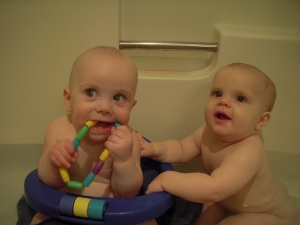 Loving the tub time
