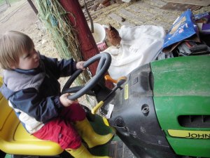 kyler-on-tractor