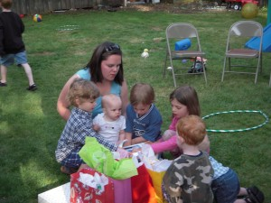 May 2009-Audrey's 1st Birthday 018