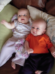 the baby cousins last august!