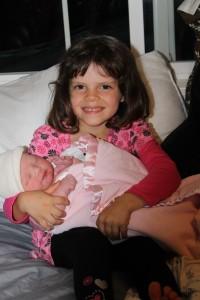 Audrey big sis!